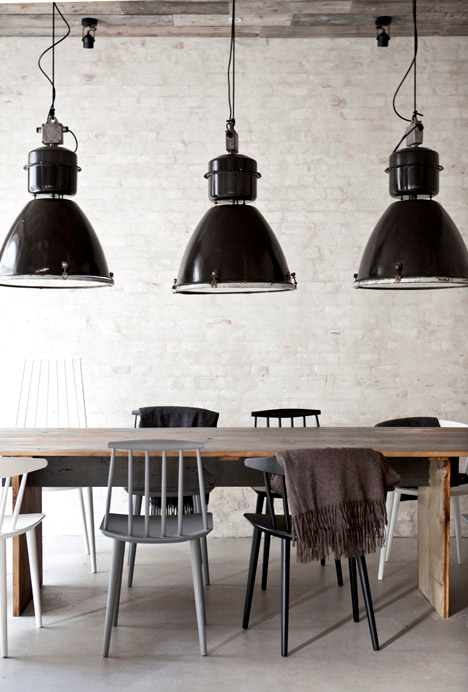 Image Result For Black Spindleback Cafe Chairs