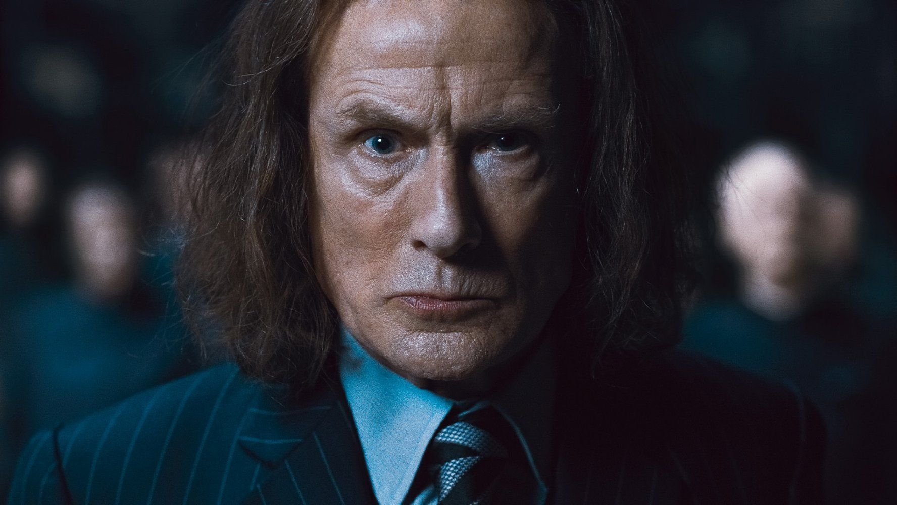 Bill Nighy In Harry Potter And The Deathly Hallows Part 1 2010 Harry Potter Characters Harry Potter Movies Bill Nighy