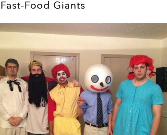 Fast food Giants