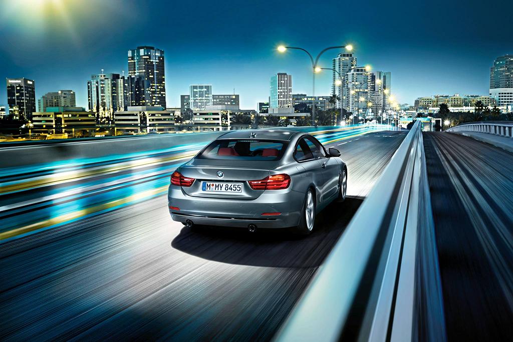 BMW Serie 4 Coupé: per chi la strada, la notte, la vive ancora di più #BMW #bmwcars #macchine #auto #roma #rome
