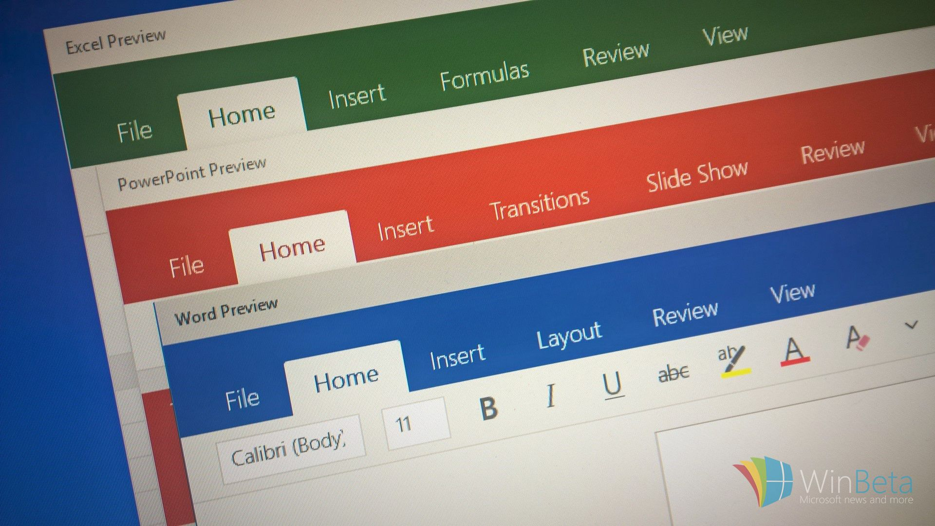 First look at Office 2016 Touch for Windows 10 — Word, Excel, and