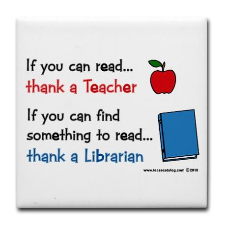 Teacher Librarian Tile Coaster By Teasecatalog Com Cafepress In 2021 Library Quotes Teacher Librarian Librarian Quote