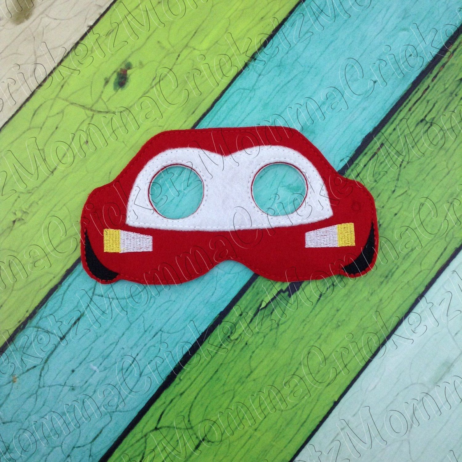 Lightening McQueen Mask Costume Dress Up Party Favors by ...