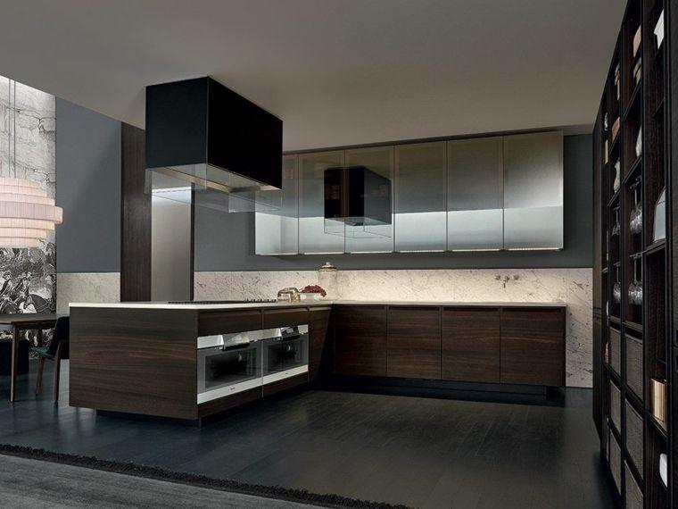 Cocinas de madera ¿ Cómo elegir la mejor madera para los gabinetes ...