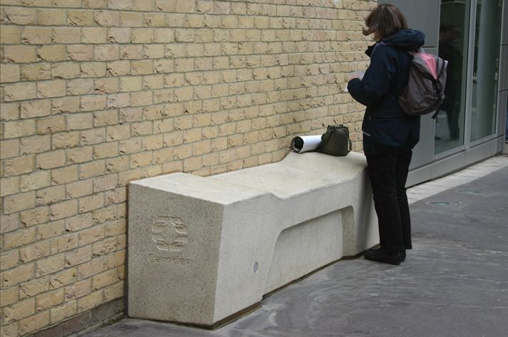 Factory Furniture were commissioned by Camden Borough Council to design a new range of public furniture for Great Queen Street. http://factoryfurniture.co.uk/index/projects/great-queen-street-camden-factory-furniture-bespoke.html