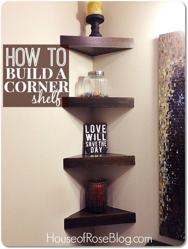 How To Decorate Corner Shelves how to decorate shelves Google Search Ideas for the House 1