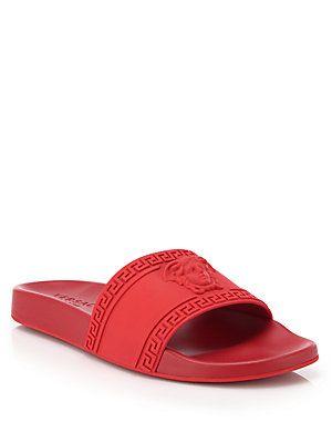 d301fa50e83 Versace Medusa Slide Sandals