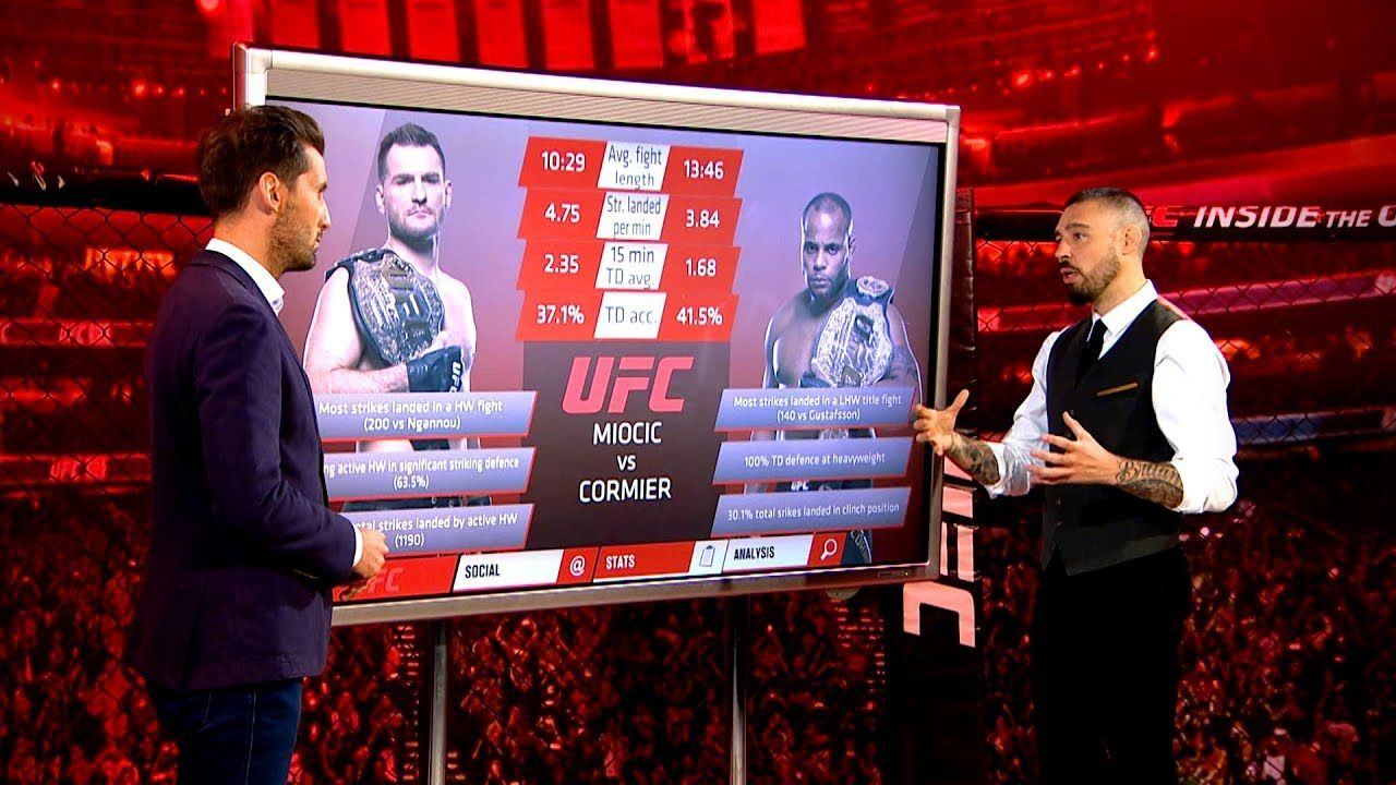 Ufc 226 Inside The Octagon Miocic Vs Cormier John And Dan Preview The Ufc 226 Heavyweight Title Fight Between Stipe Miocic And Daniel Cormi Ufc Mma Mixed Martial Arts