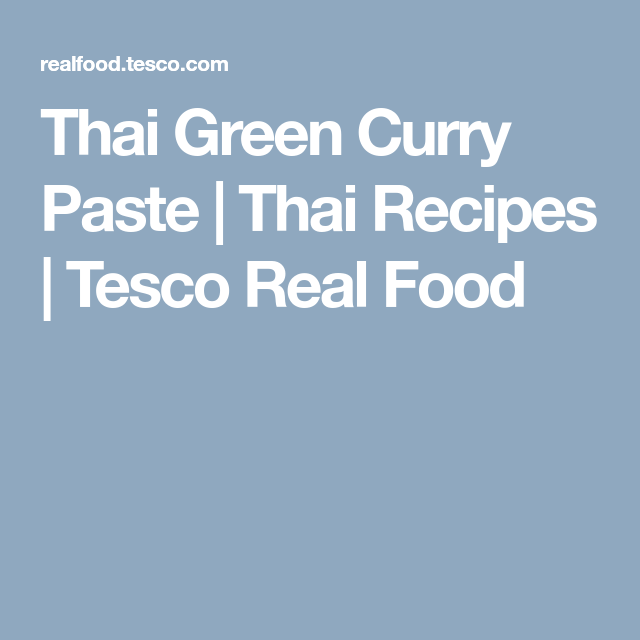 How To Make Thai Green Curry Paste Thai Green Curry Paste