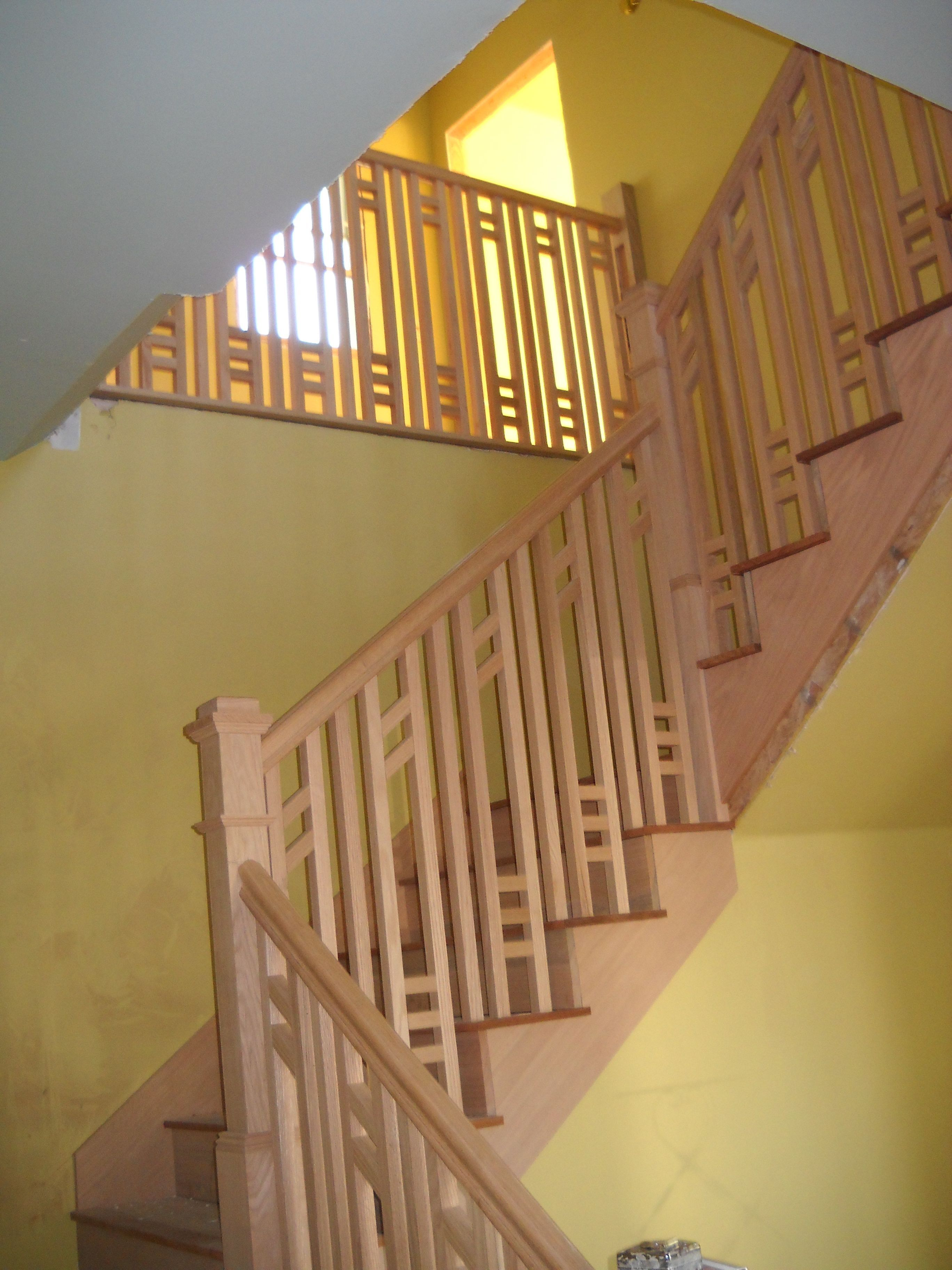 Front Stairs A La Greene Amp Greene Craftsman Staircase