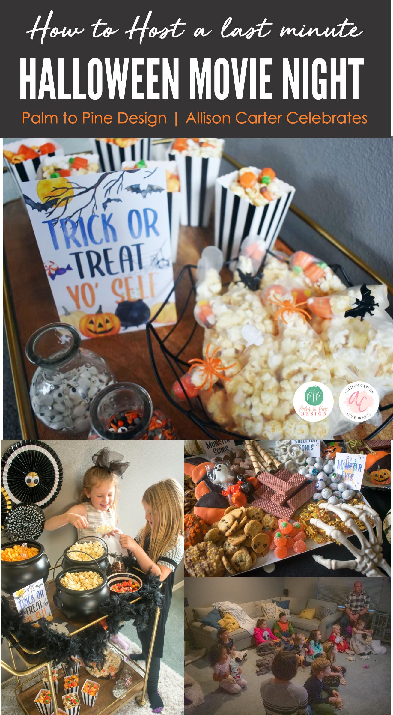 Host a last minute Halloween Movie Night, Best Halloween