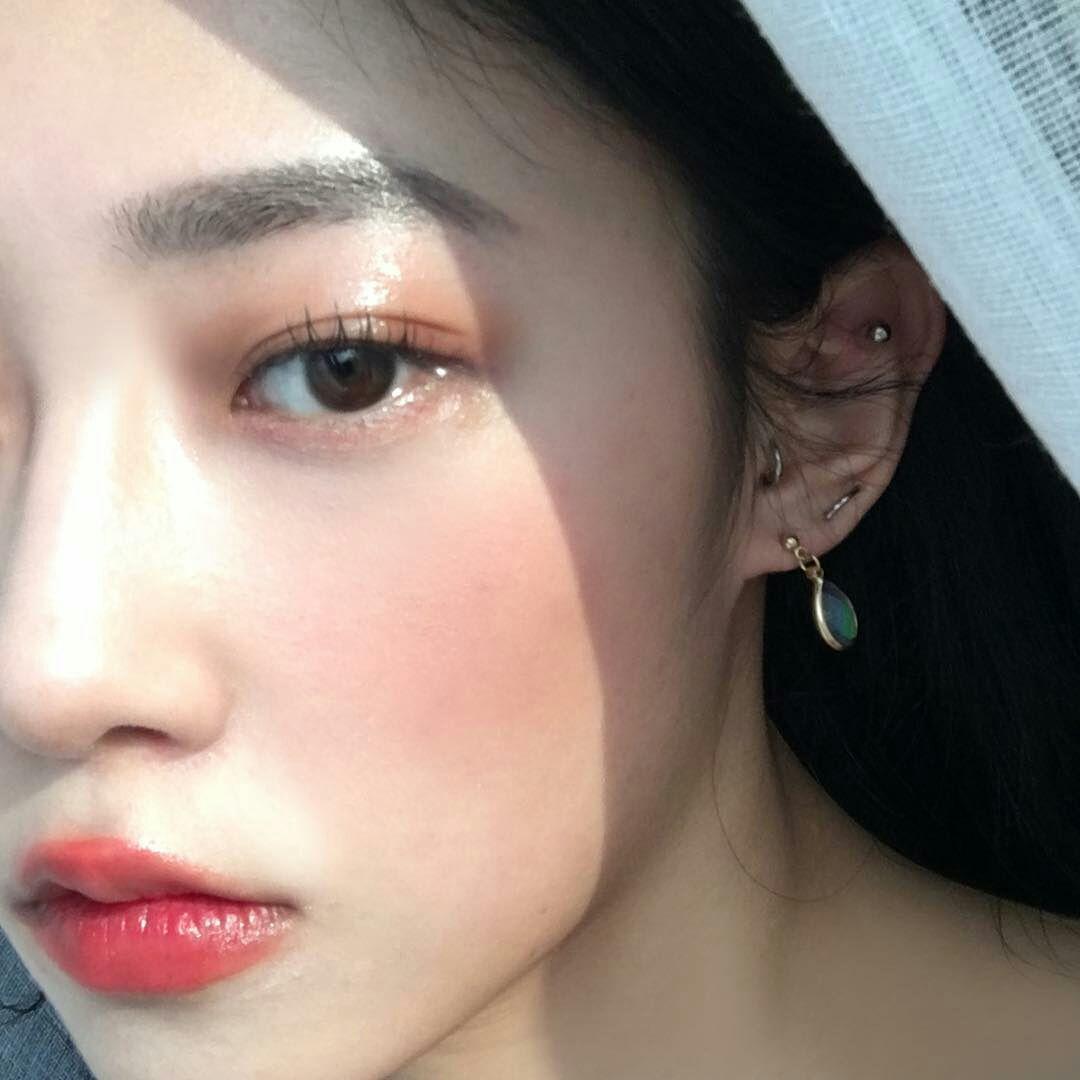 Ulzzang List Nose Piercing Nose Piercing Stud Diamond Nose Piercing Stud Placement
