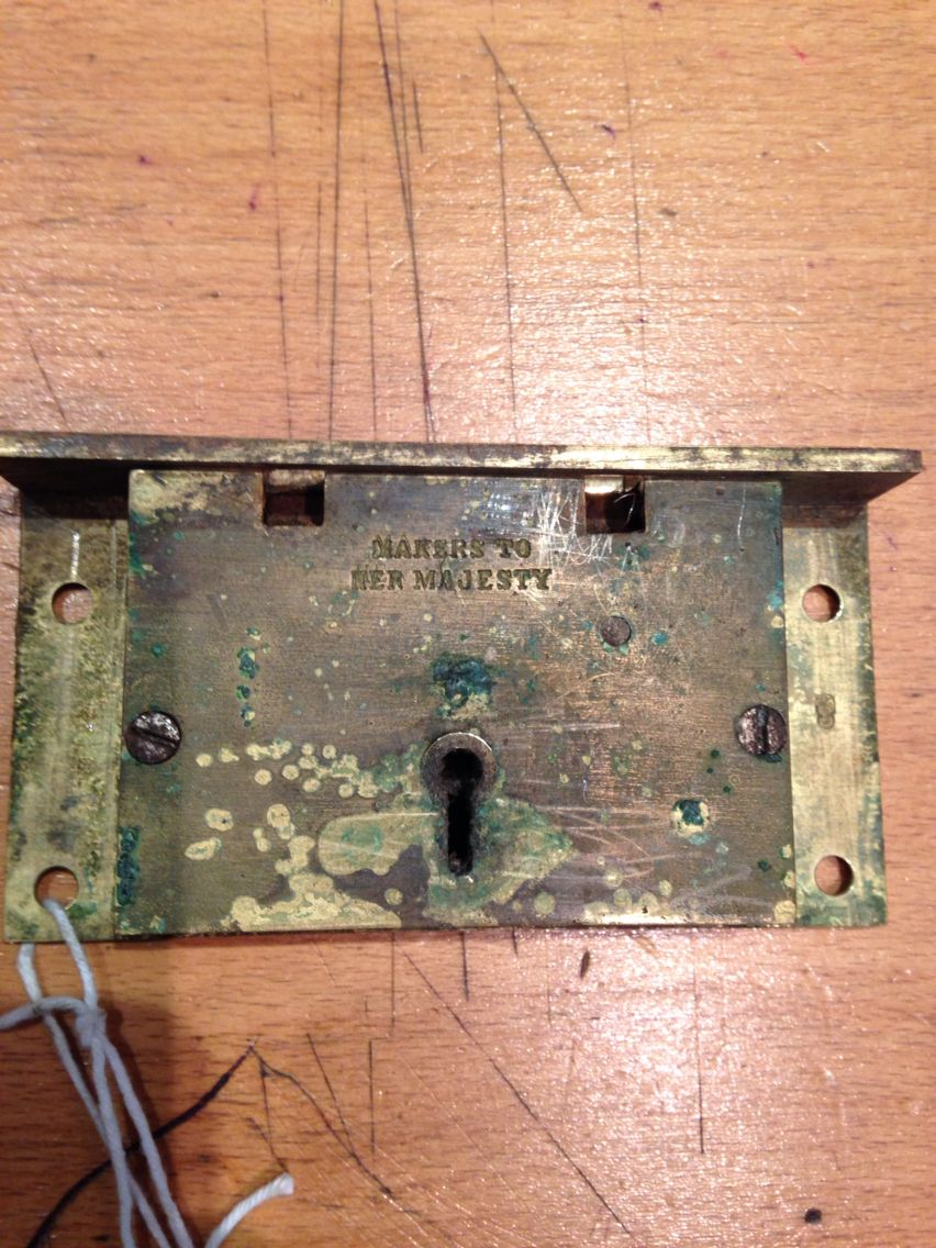 An Antique Chubb Box Safe Lock That We Have Had The