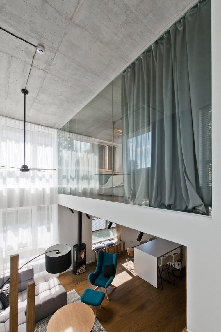 Sehr modernes Loft-Design im skandinavischen Stil | Haus, Interiors ...