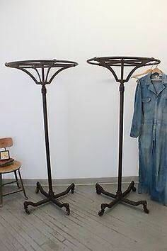 Vintage Round Garment Rack Clothing Rack Rack Vintage Antiques