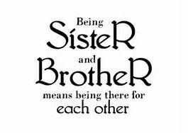 Being Sister And Brother Means Being There For Each Other Sibling Quotes Sister Quotes Brother Quotes