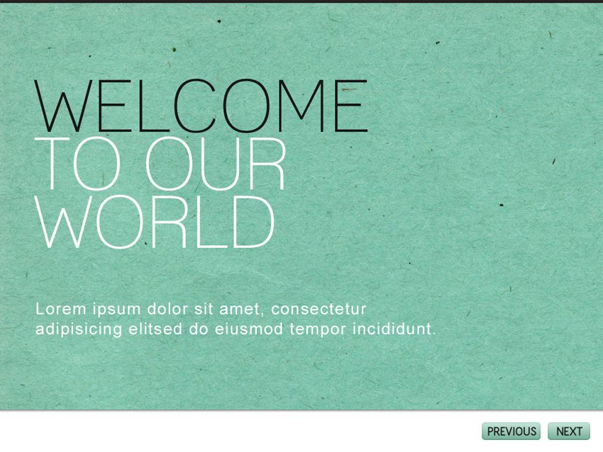 Modernist Powerpoint Template TexturePaper Type Background