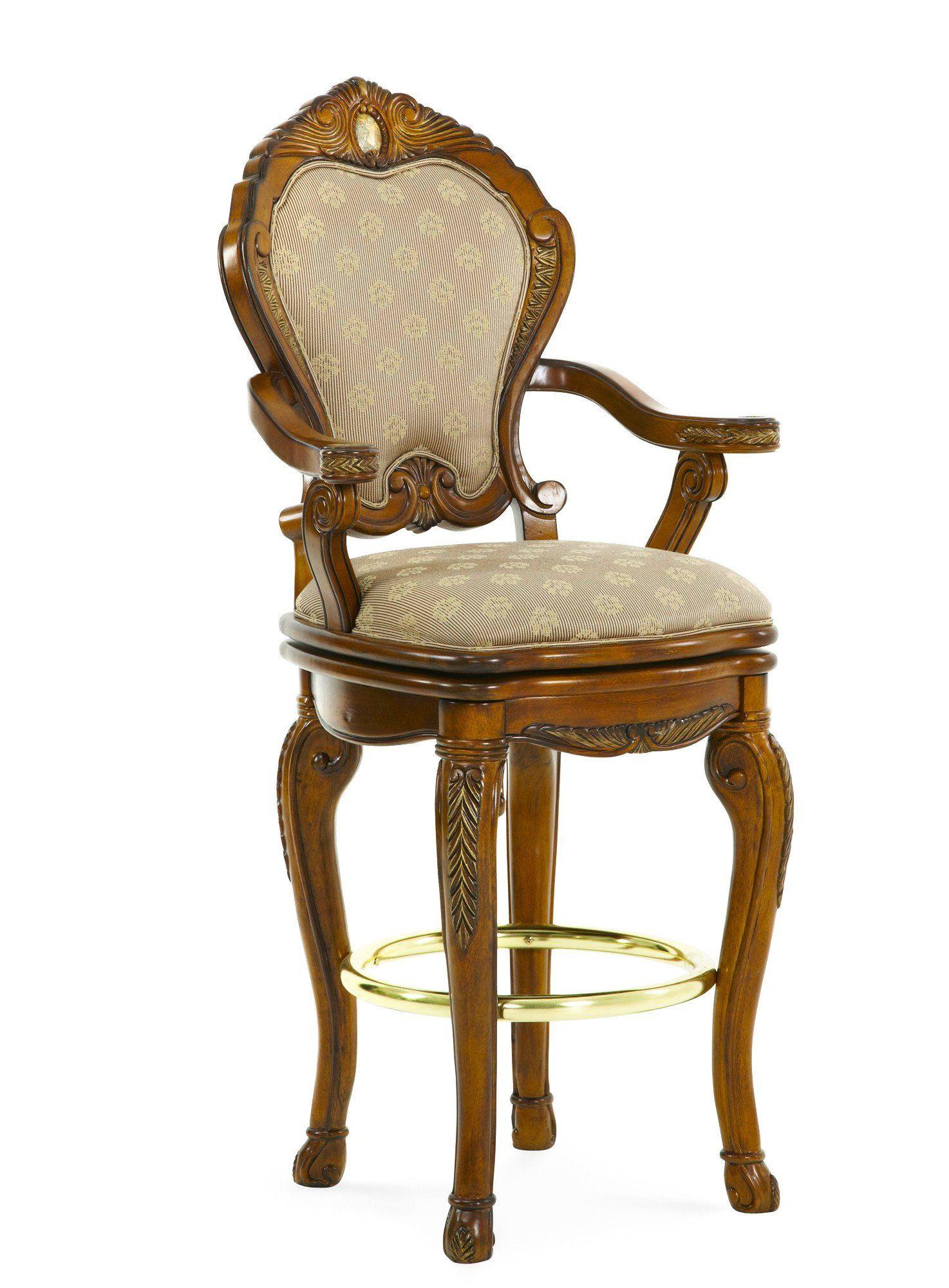 Cortina Swivel Barstool | AICO Michael Amini | Stools, Bar stool and ...