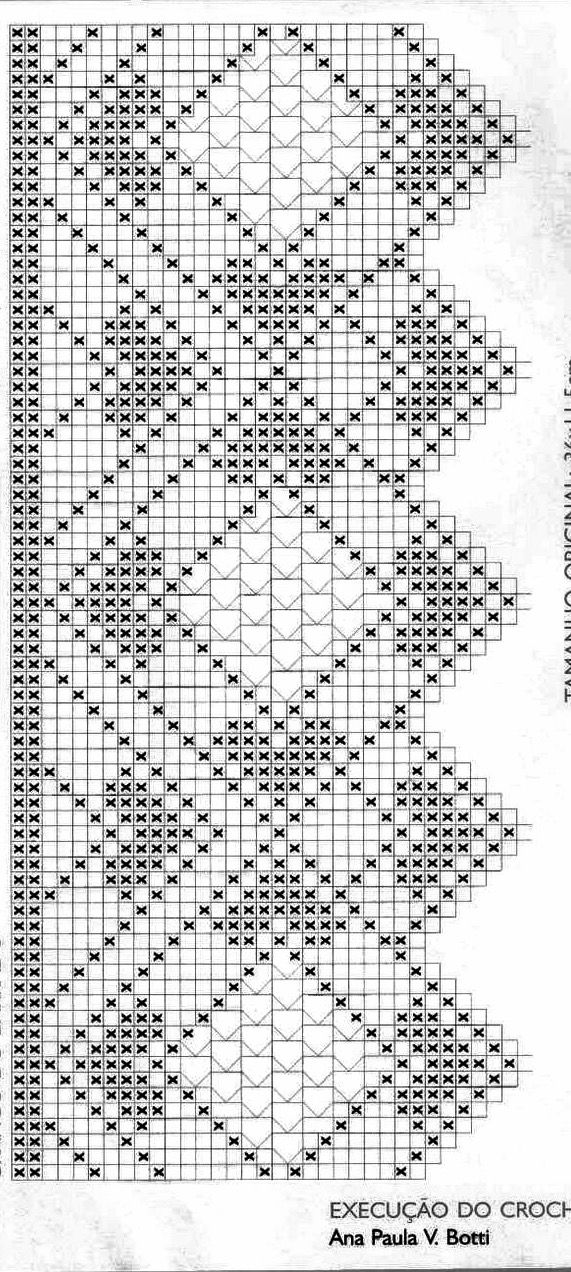 Pin de Olga Oyarzun en Crochet | Pinterest | Ganchillo, Cenefas y ...