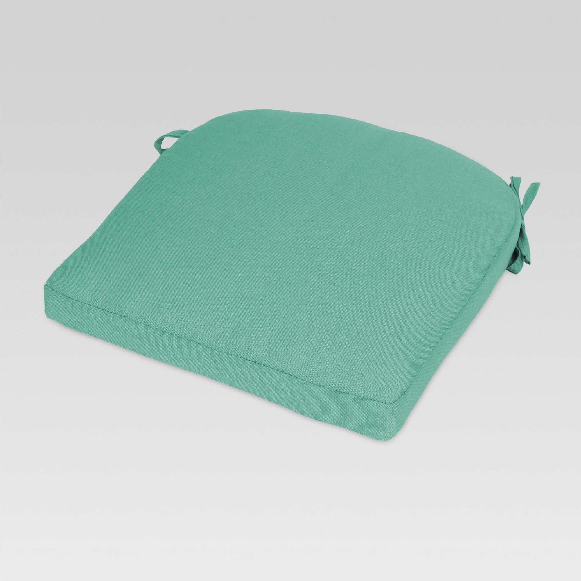 Outdoor Round Back Seat Cushion Turquoise Threshold In 2019