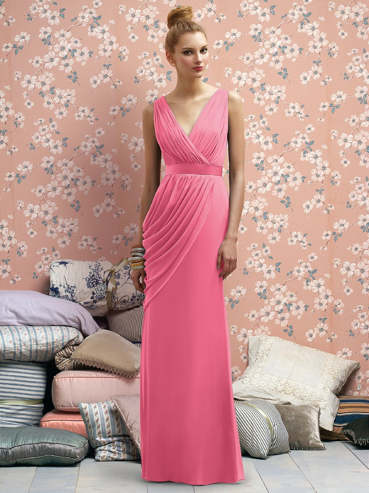 Dorable Lela Rose Lr182 Vestido De Dama Componente - Ideas de ...