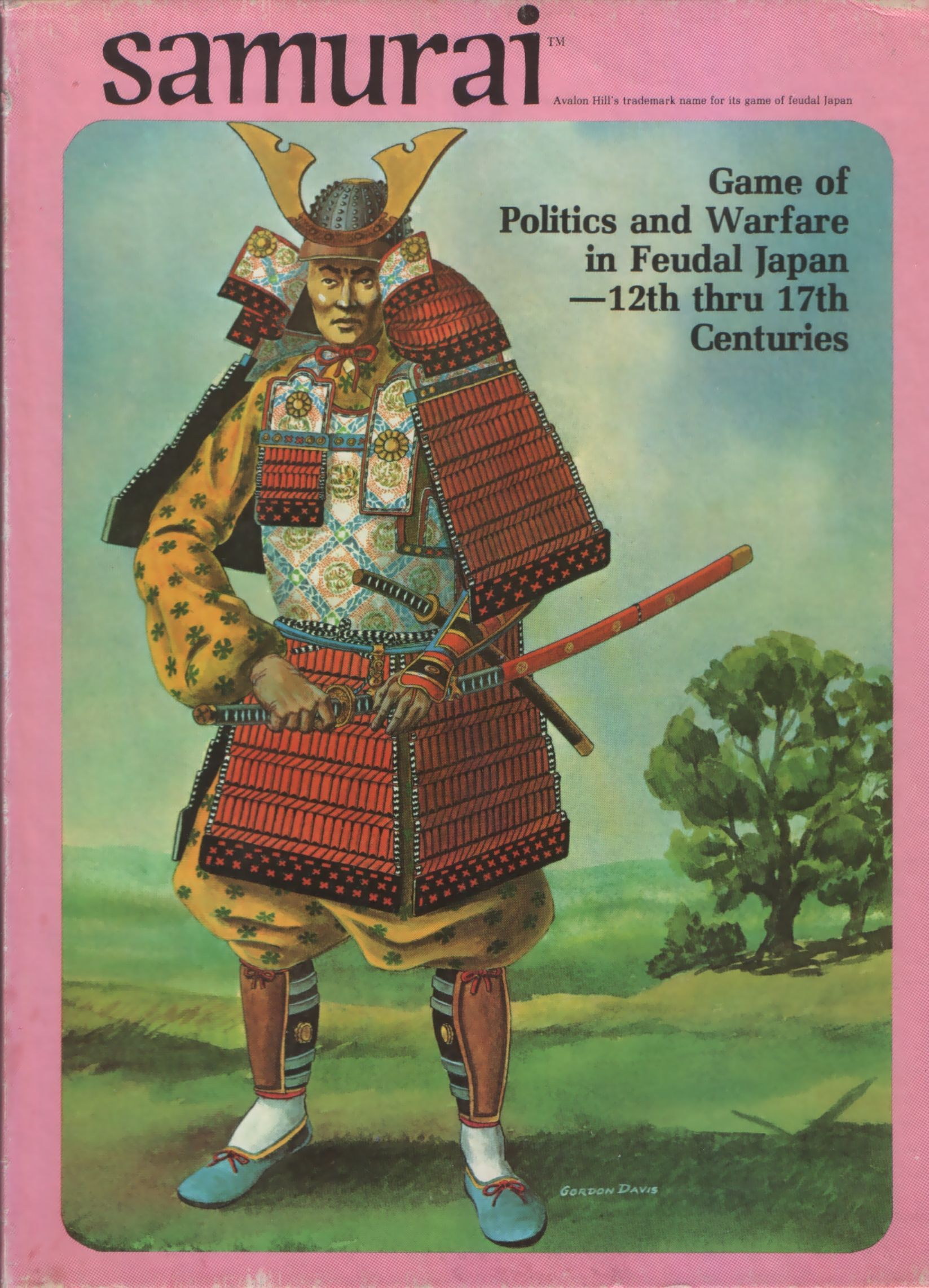 Samurai Samurai games, Japan games, Avalon hill