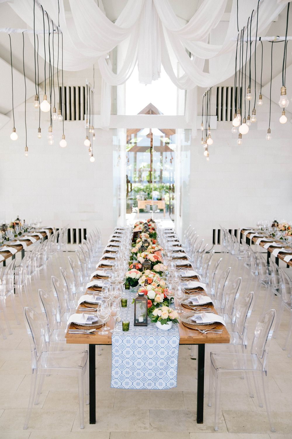 Romantic and Colorful Bali Wedding | Spring wedding colors, Wedding modern,  Ghost chairs