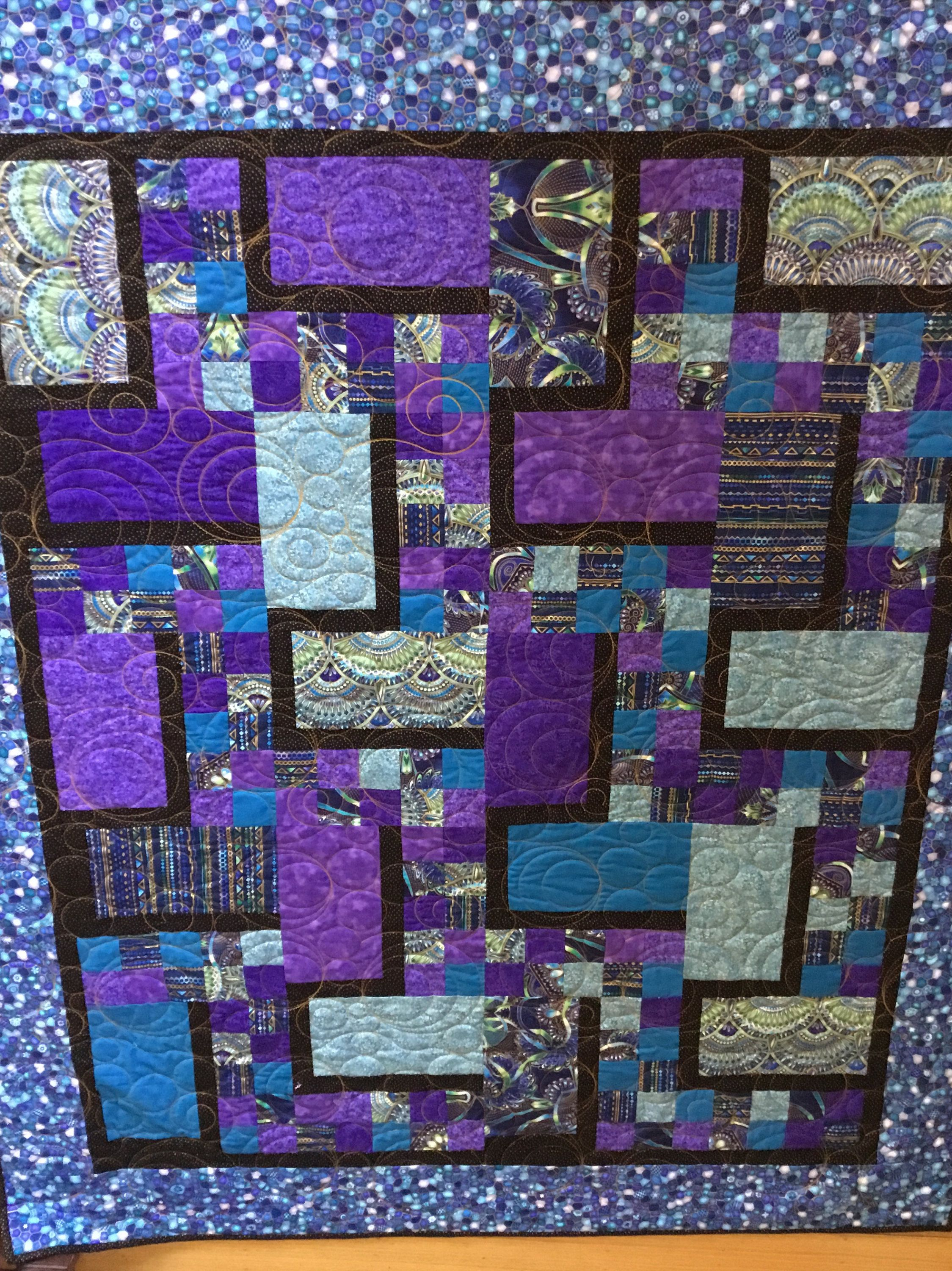 Jewel Tones Quilt, Quilts for Sale, Handmade Quilts, Homemade ... : where to sell handmade quilts - Adamdwight.com
