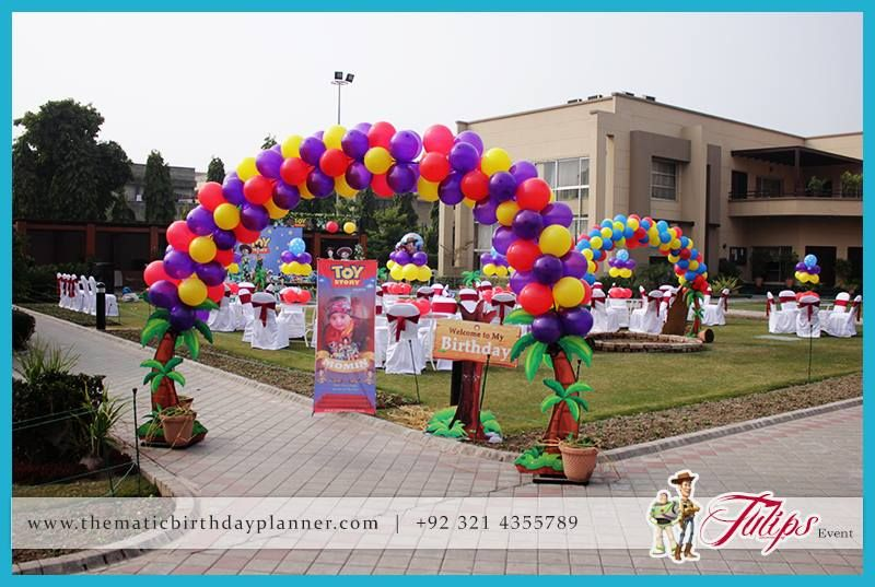 Toy Story birthday party theme ideas in Lahore Pakistan