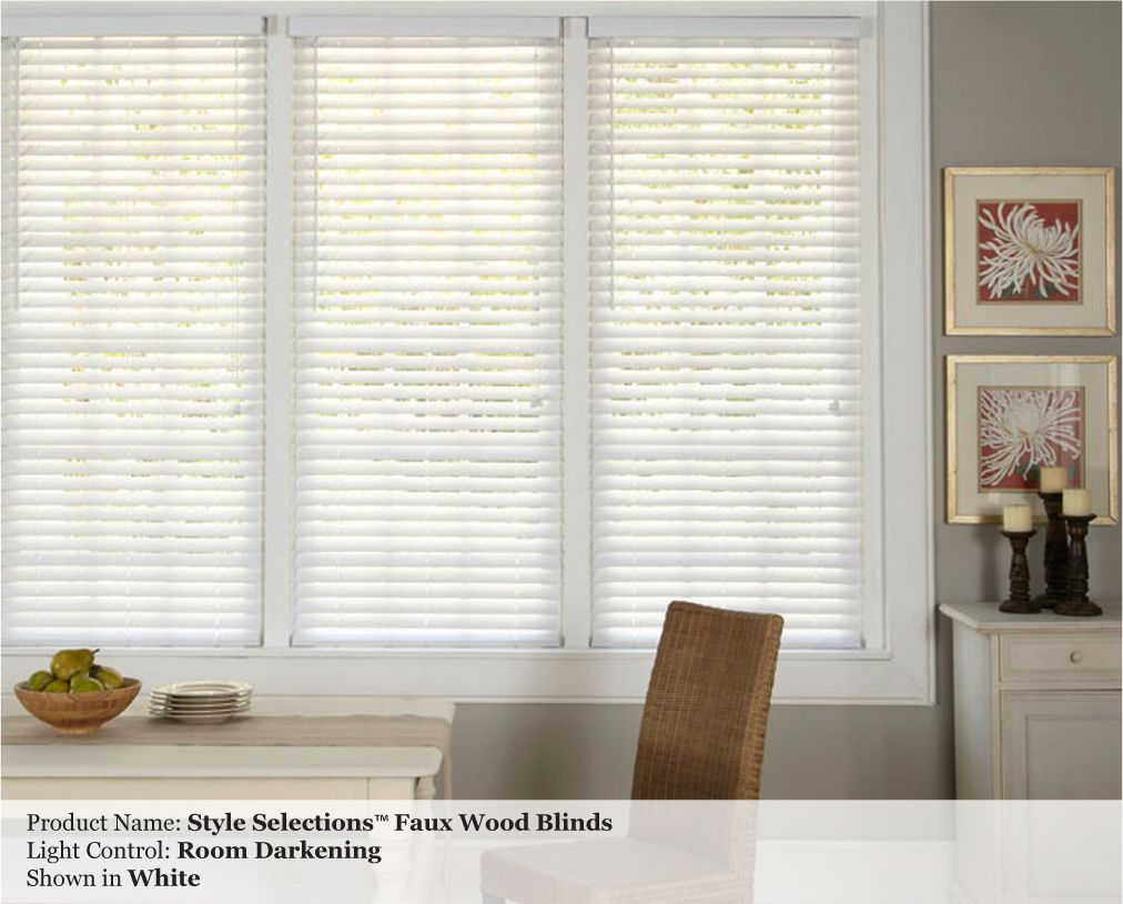 allen roth 2 inch faux wood custom blinds photo gallery