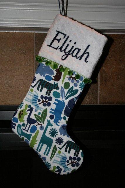 Pin by mod thirteen on Kids Custom Christmas Stockings Pinterest