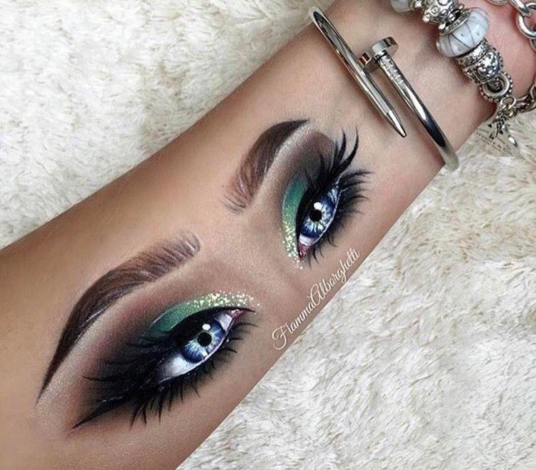 Pinterest Mariahlkrueger Hand Makeup Glamour Makeup