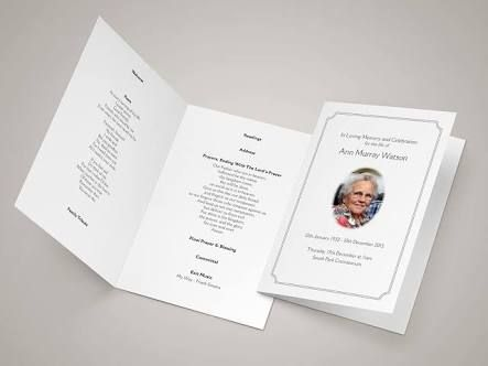 Image Result For Funeral Templates For Catholic Mass  The End
