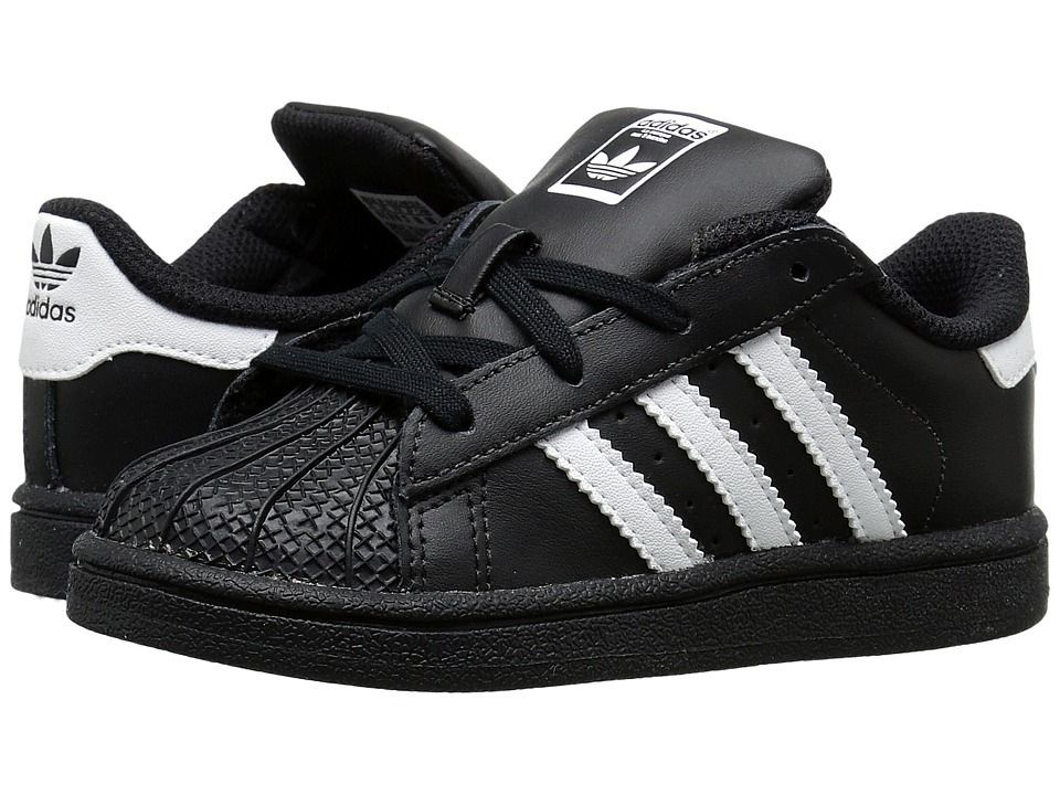 adidas SUPERSTAR YOUTH BlackWhiteBlack