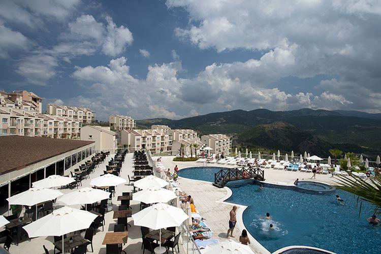 Breathtaking views from the CLC Kusadasi resort.