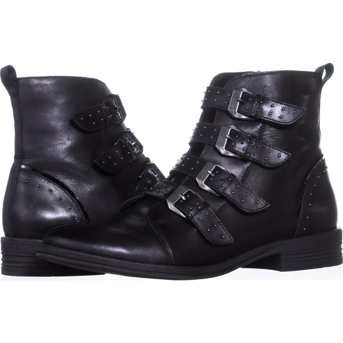 1a8620d1bc9 Steve Madden Pursue Buckle Booties  stevemadden  ankleboots  boots  booties   blackboots  flat  shoes  retail  shopping  style  trend  love  fashion    ...