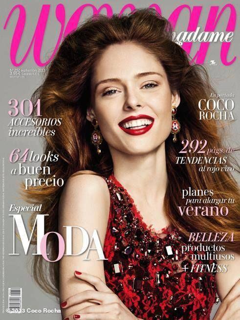 Spain Cover 2013  Coco Rocha