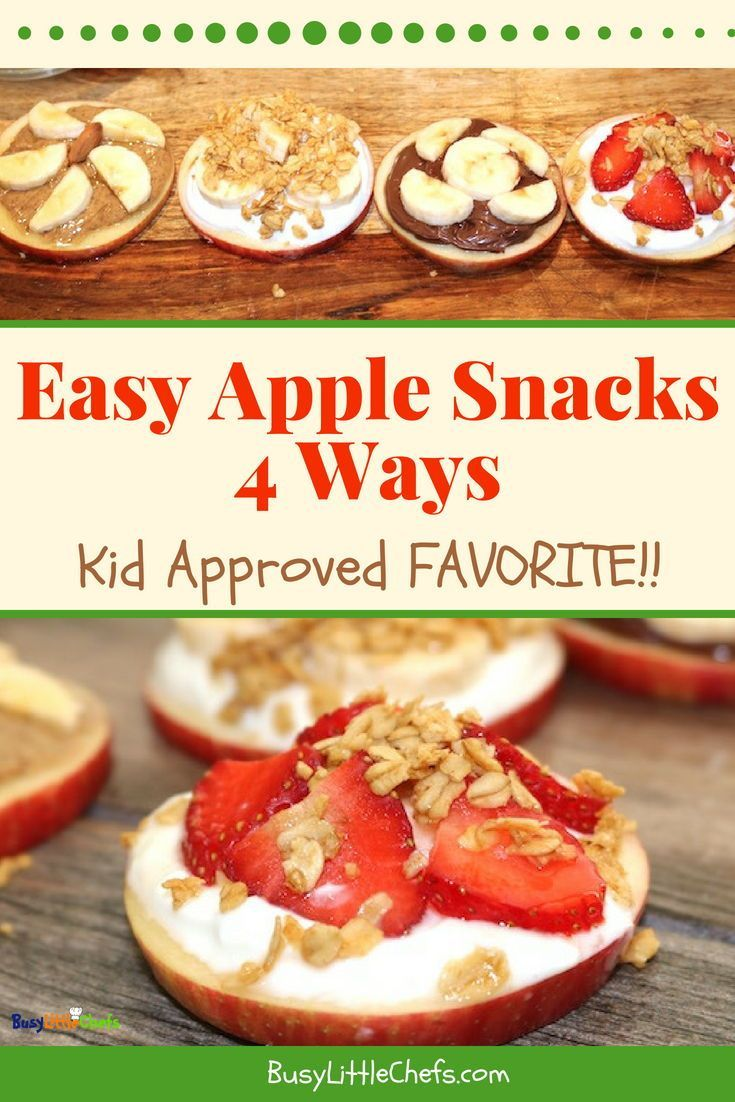 Easy Apple Snacks images