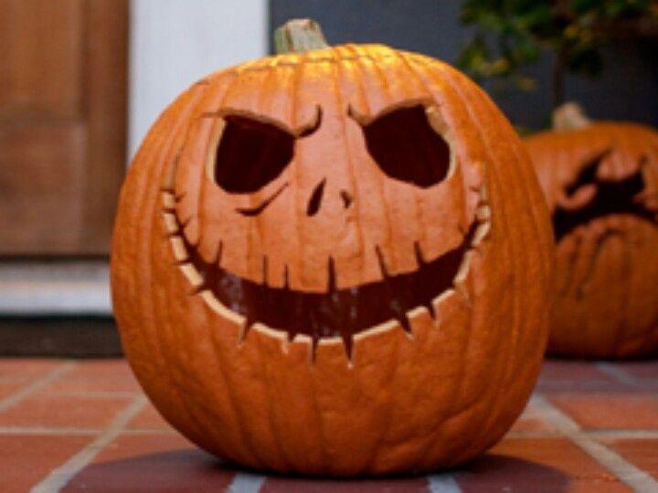 a nightmare before Christmas pumpkin tattoos Halloween Pumpkin