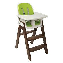 Oxo Tot Sprout High Chair Green Walnut Baby Wooden