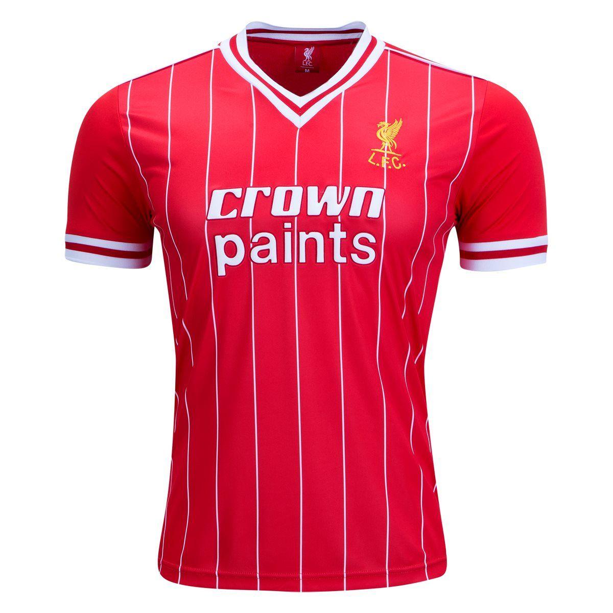 Liverpool 1982 Retro Home Jersey  a32bafad0