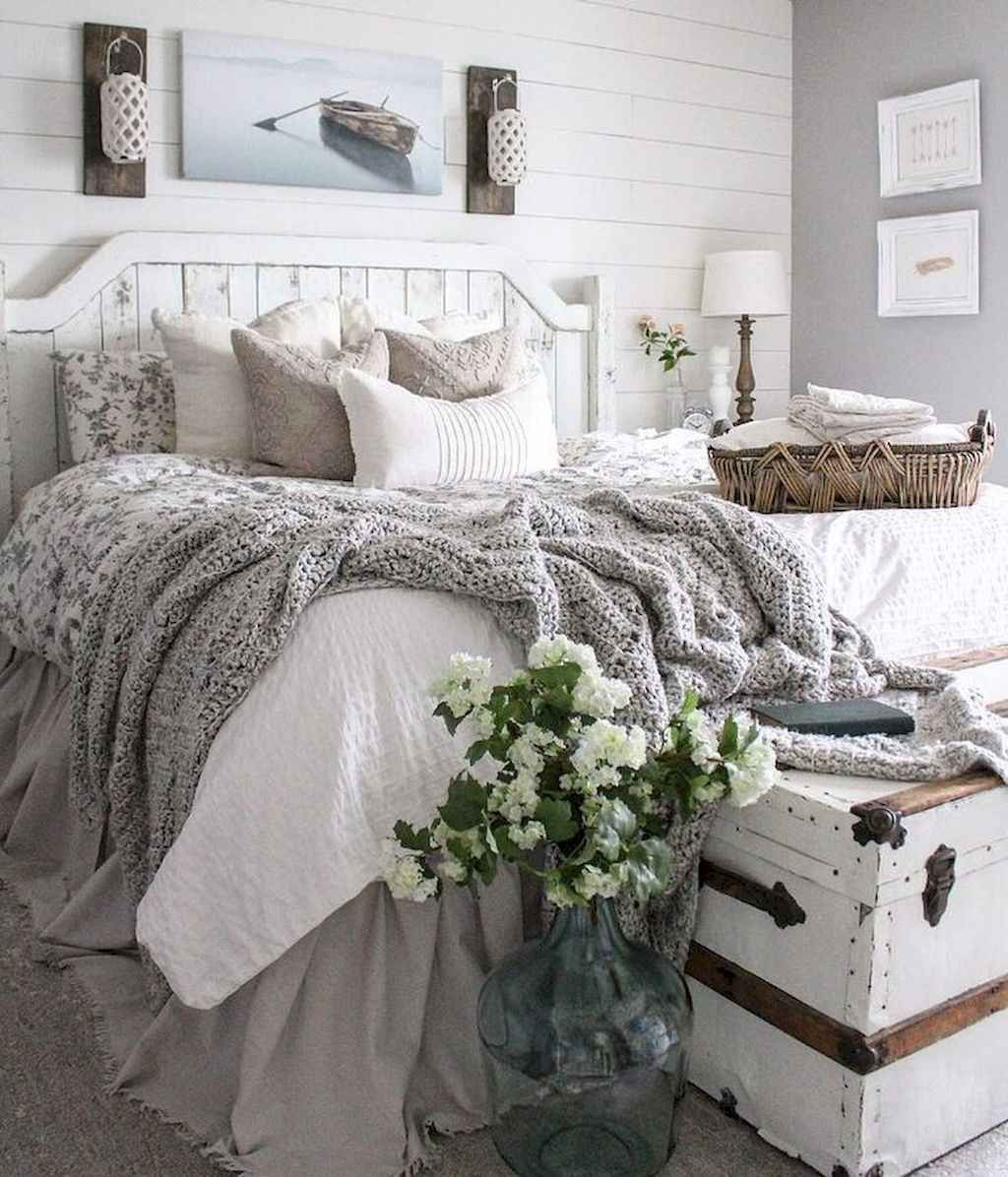 65 Farmhouse Master Bedroom Decorating Ideas | bedroom ideas ...