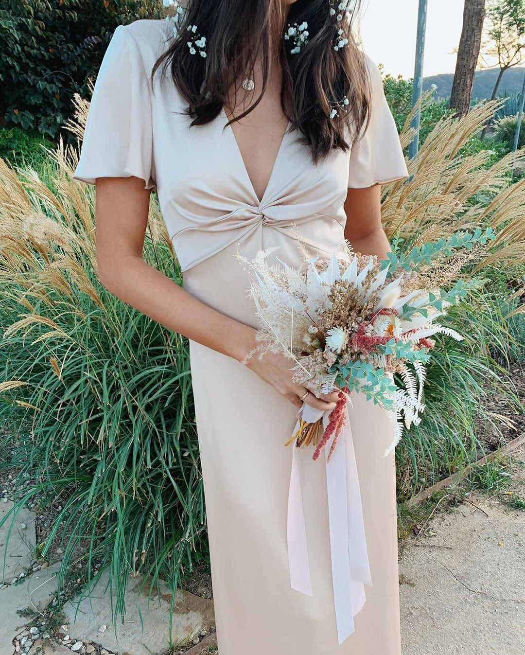Mumu Weddings On Instagram New Style Rome Twist Gown In