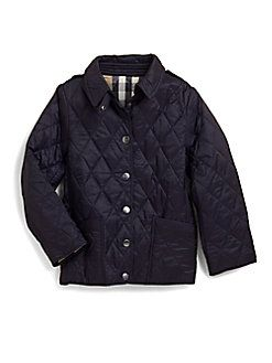 Burberry Little Girl S Quilted Jacket Price Products Pinterest