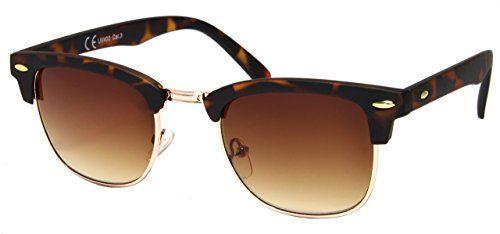 006def6cb0b3bc Cheapass Sonnenbrille Clubmaster Braun Retro Damen Herren Cheapass  Sunglasses http   www.amazon