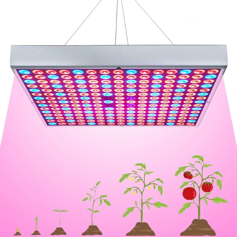 Led Grow Light For Indoor Plants Growing Lamp 225 Leds 45w Uv Ir Red Blue Full Spectrum Plant Lights Bulb Pa In 2020 Led Grow Lights Growing Plants Indoors Grow Lights