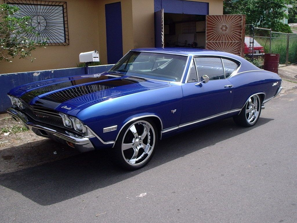 1968 Chevrolet Malibu This Car Is The Same Color As The One I