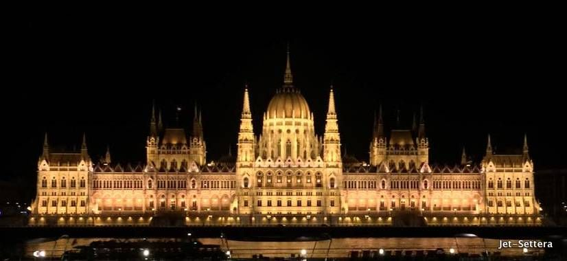 Hungarian Parliament by Night - Top Things to Do in Budapest