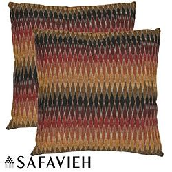 Shop for Safavieh Rainbow Cascade 22-inch Decorative Pillows (Set of 2) and more…