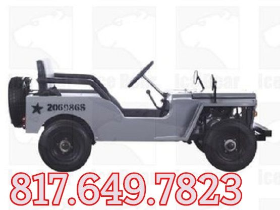 Ice bear Jeep Off-Road 125cc Mini Go-Kart/ Golf Cart - Disc Brakes ...